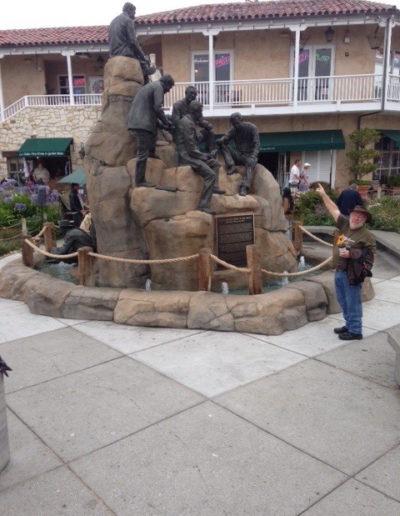 Statue of John Steinbeck