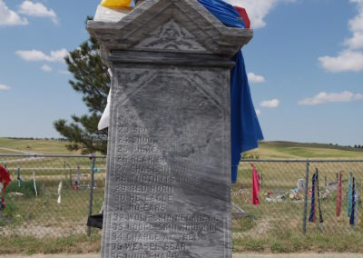 Mass grave monument Wounded Knee