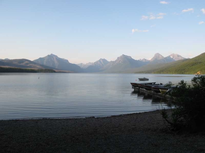 View Lake MacDonald Apgar