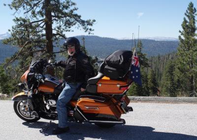 Harley Davidson - Yosemite National Park