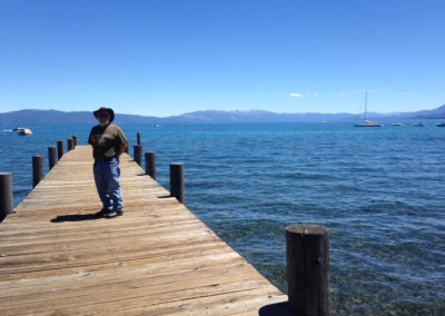 Lake Tahoe jetty