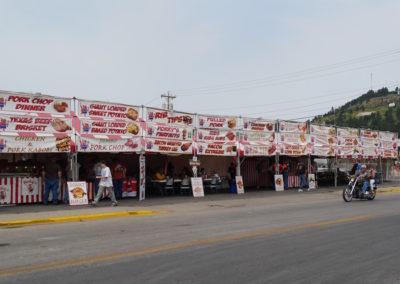 Food vendors Sturgis