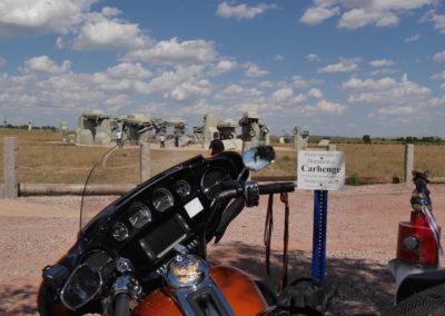 Harley Davidson & Kanga Carhenge