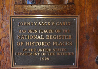 Johnny Sack's plaque