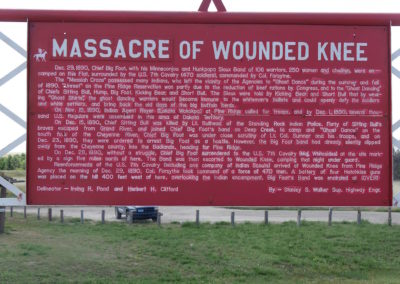 Massacre of Wounded Knee