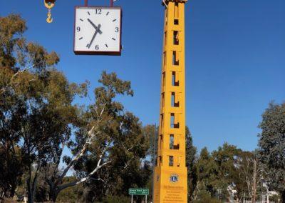 Narenbeen clock