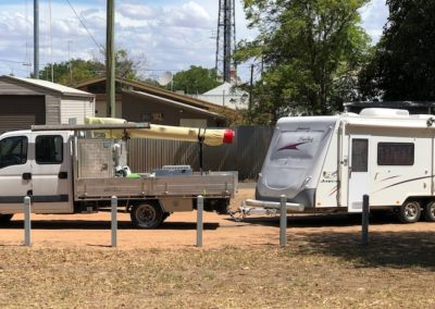 Our rig in Bourke NSW