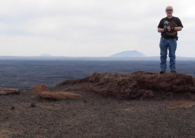 Overlooking Craters of the Moon National Park