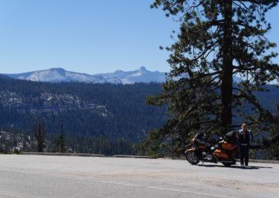 Panoramic view Tioga Pass