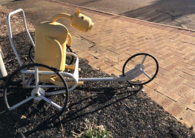 Tin Horse Highway - yellow horse