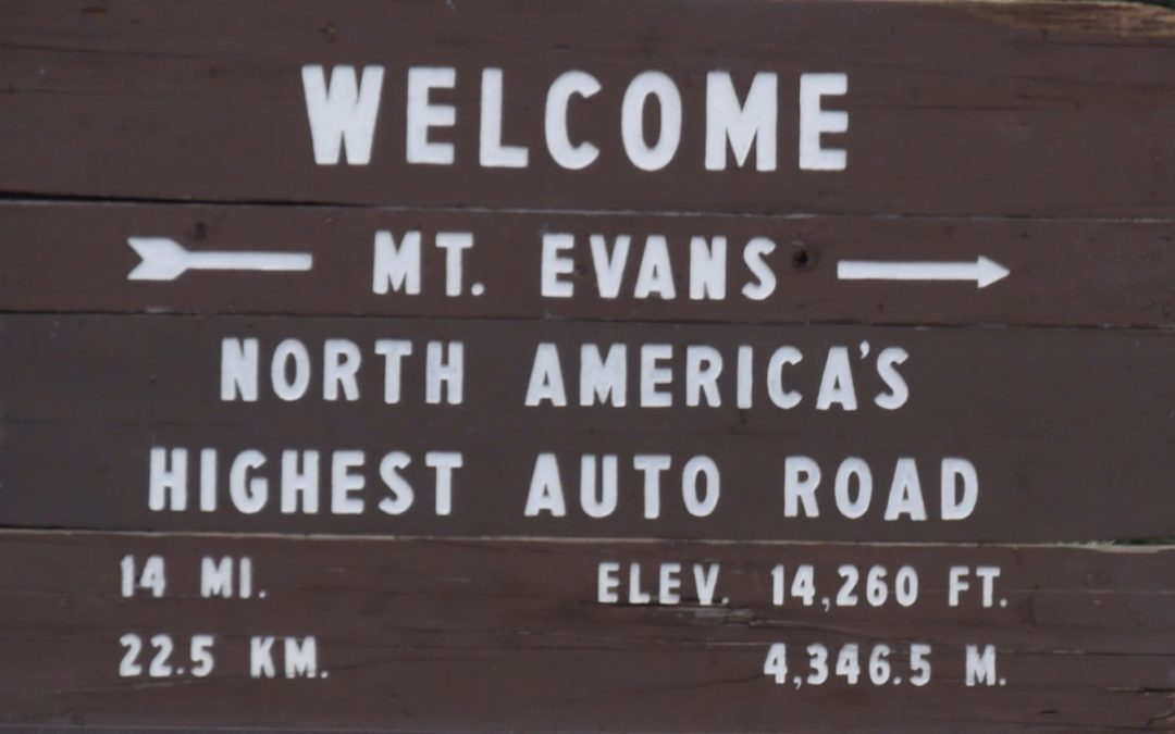 Mt Evans – The air is rare up there!